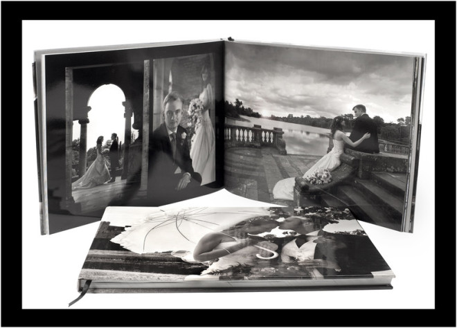 Photo of two Photographic Storybooks with images shot by Kenny Hickey Photography