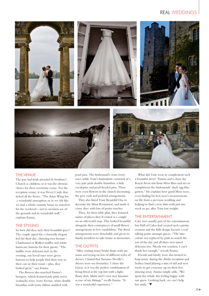 County Weddings, Your Kent Wedding, Kenny Hickey photography, Tom & Emma, Hever Castle, Childhood Sweethearts