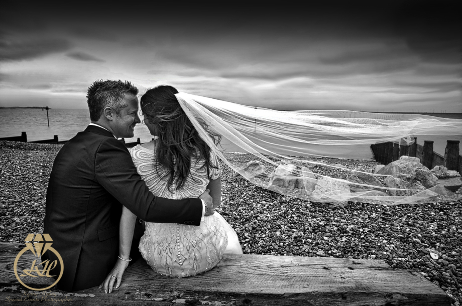 Beach wedding Whitstable Nicola & Chris