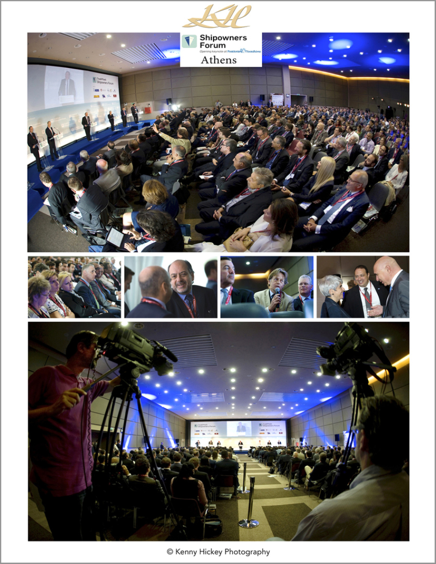 Trade Winds, corporate, PR events, Shipowners Forum, Athens, Greece 2014