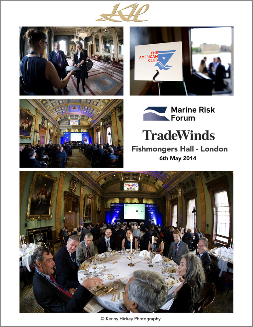 Trade Winds, Marine Risk Forum, Fishmongers Hall, London, May 2014