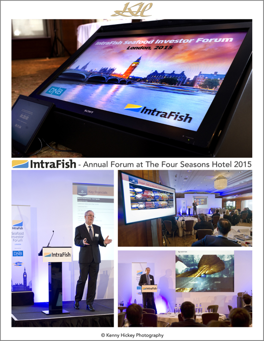 Corporate Intrafish Seafood Investor Forum at The Four Seasons Hotel, London 2015