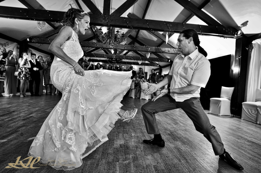 First Dance tossed in chairs, Jewish, Mountains Country House