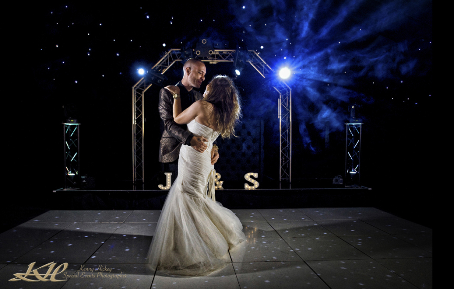 bride & Groom dancing at Mountains Country House