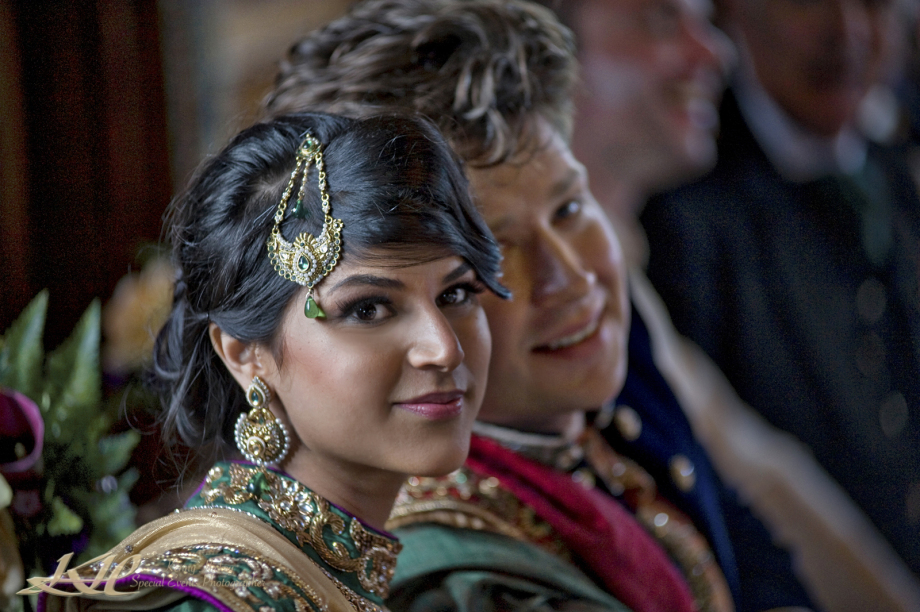 Indian Bride & Groom at Hever Castle