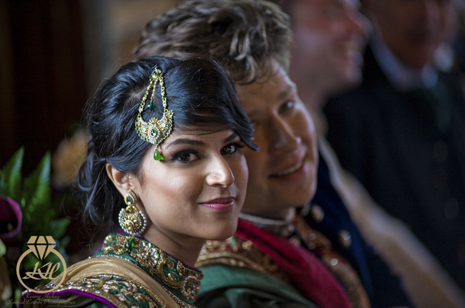 Indian  wedding at Hever Castle