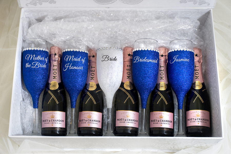wedding gifts champagne